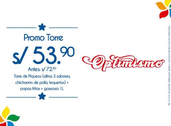 PROMO TORRE S/53.90 RUSTICA - Mall del Sur