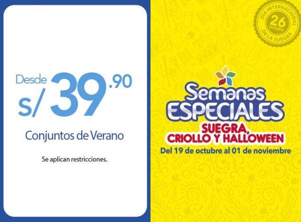 CONJUNTOS DE VERANO DESDE S/39.90 Sneak - Mall del Sur