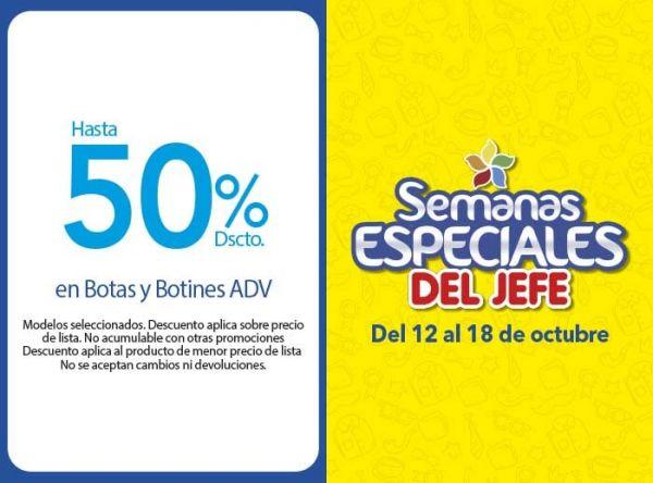 HASTA 50% DSCTO EN BOOTAS Y BOOTIENES ADV - Plaza Norte