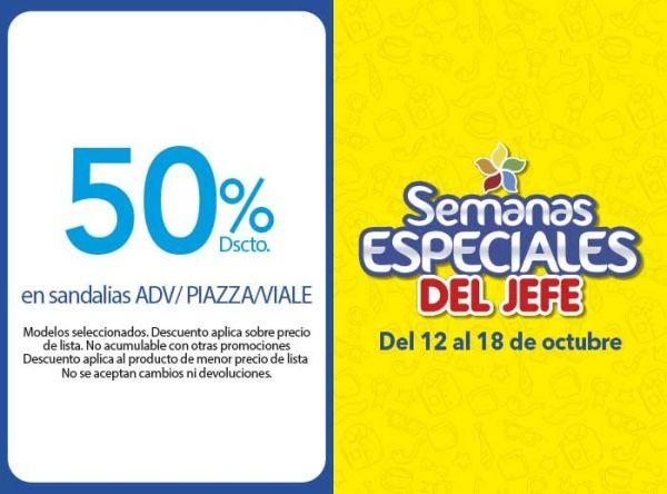 50% DSCTO EN SANDALIAS ADV/PIAZZA/VIALE - Plaza Norte