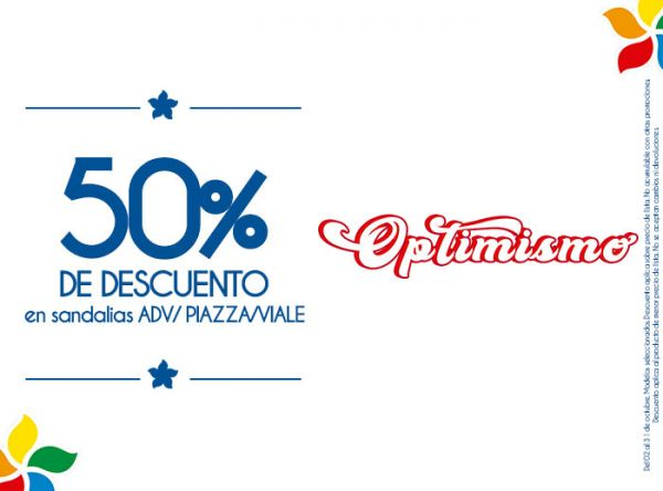 50% DSCTO EN SANDALIAS ADV/PIAZZA/VIALE Viale - Mall del Sur