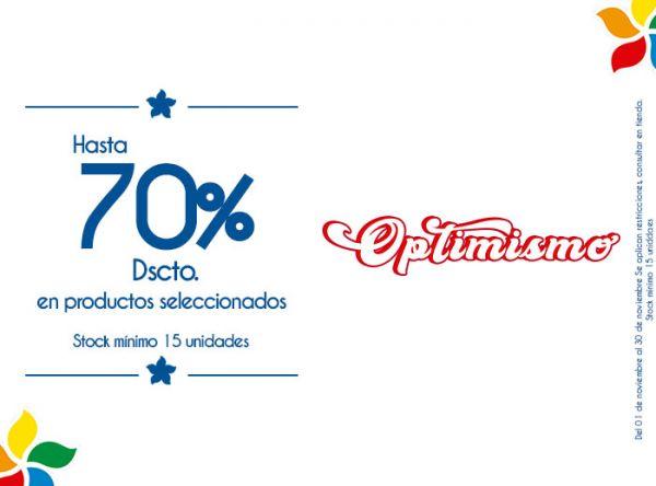 HASTA 70% DSCTO. EN PRODUCTOS SELECCIONADOS. STOCK MÍNIMO 15 UNIDADES - Plaza Norte