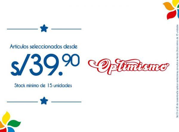 ARTÍCULOS SELECCIONADOS DESDE S/39.90. STOCK MÍNIMO: 15 UNIDADES - Plaza Norte
