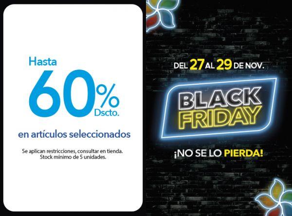 HASTA 60% DSCTO EN ARTÍCULOS SELECCIONADOS - Plaza Norte