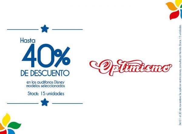 HASTA 40% DSCTO EN LOS AUDÍFONOS DISNEY MODELOS SELECCIONADOS. STOCK: 15 UNIDADES. - Plaza Norte