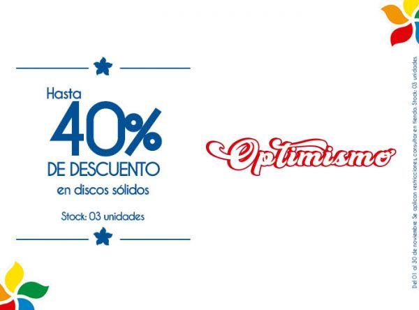 40% DE DESCUENTO EN DISCOS SÓLIDOS STOCK: 03 UNIDADES. - Plaza Norte