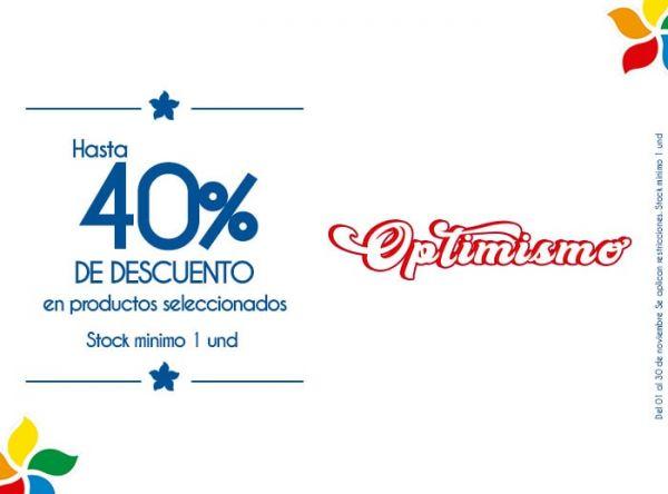 HASTA 40% DSCTO EN PRODUCTOS SELECCIONADOS. STOCK MÍNIMO: 1 UNIDAD - Plaza Norte
