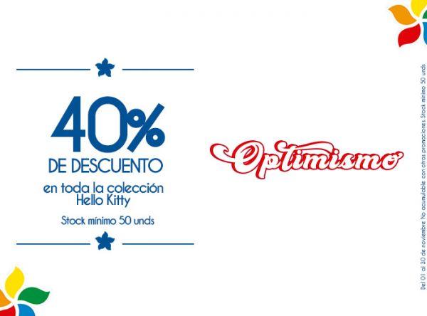 40% DSCTO EN TODA LA COLECCIÓN HELLO KITTY STOCK MINIMO: 50 UNDS - Plaza Norte