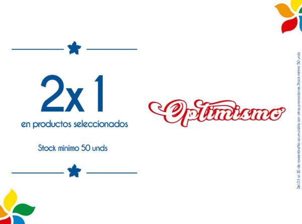 2X1 EN PRODUCTOS SELECCIONADOS  STOCK MINIMO: 50 UNDS - Plaza Norte