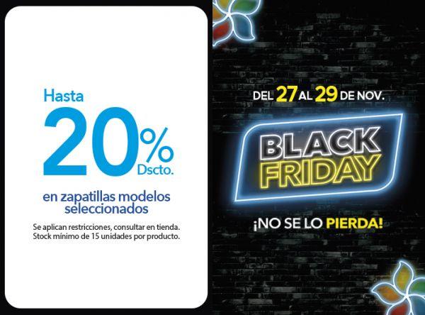 HASTA 20% DSCTO. EN ZAPATILLAS MODELOS SELECCIONADOS - Plaza Norte