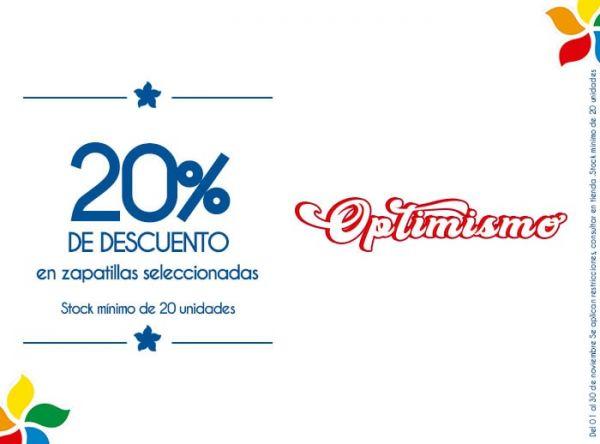 20% DE DSCTO EN ZAPATILLAS SELECCIONADAS. STOCK MÍNIMO: 20 UNIDADES - Plaza Norte