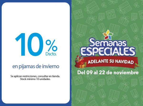 10% DSCTO EN PIJAMAS DE INVIERNO - Plaza Norte