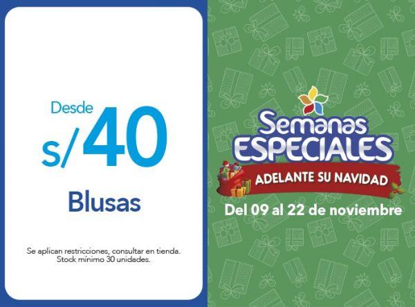 BLUSAS DESDE S/40.00 - Plaza Norte