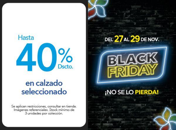 HASTA 40% DSCTO. EN CALZADO SELECCIONADO - Plaza Norte