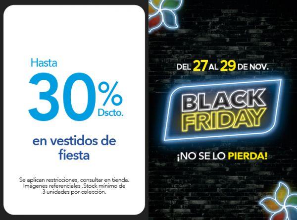 HASTA 30% DSCTO. EN VESTIDOS DE FIESTA - Plaza Norte