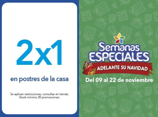 2X1 EN POSTRES DE LA CASA - Plaza Norte