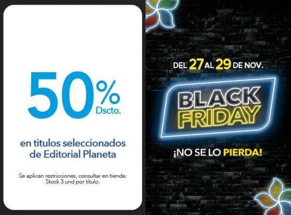 50% DSCTO. EN TITULOS SELECCIONADOS DE EDITORIAL PLANETA - Plaza Norte