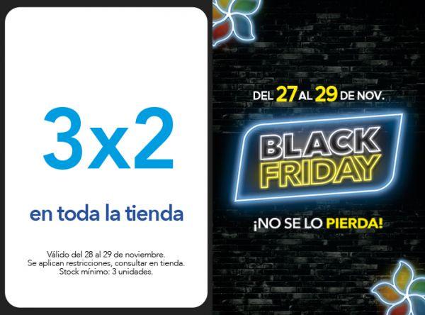 3X2 EN TODA LA TIENDA - Plaza Norte