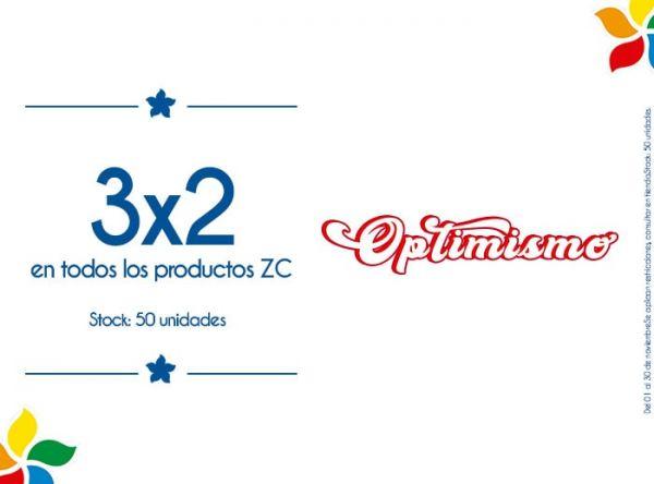 3 X 2 EN TODOS LOS PRODUCTOS ZC. STOCK MÍNIMO: 50 UNIDADES - Plaza Norte