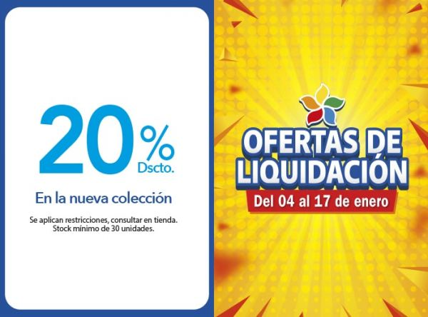 20% DSCTO. EN LA NUEVA COLECCIÓN Almendra - Mall del Sur