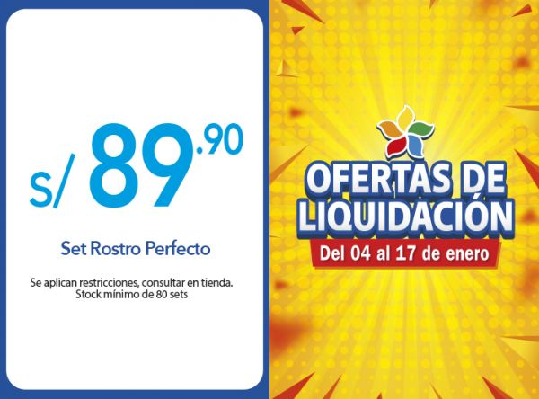 SET ROSTRO PERFECTO A S/89.90 ÉSIKA - Mall del Sur