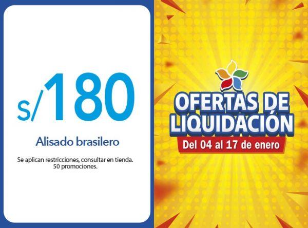 ALISADO BRASILERO A S/. 180.00 MONTALVO - Mall del Sur