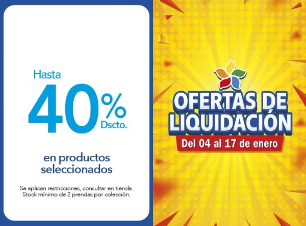 HASTA 40% DSCTO.EN PRODUCTOS SELECCIONADOS BABY CLUB CHIC - Mall del Sur
