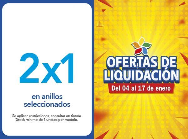 2X1 EN ANILLOS SELECCIONADOS Belle Accesorios - Mall del Sur