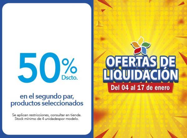 50% DSCTO. EN EL SEGUNDO PAR, PRODUCTOS SELECCIONADOS. BIBI - Mall del Sur