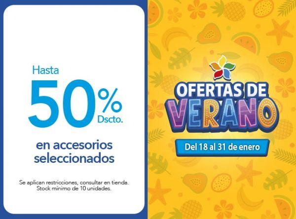 Hasta 50% Dscto.en accesorios seleccionados BE SIFRAH - Mall del Sur