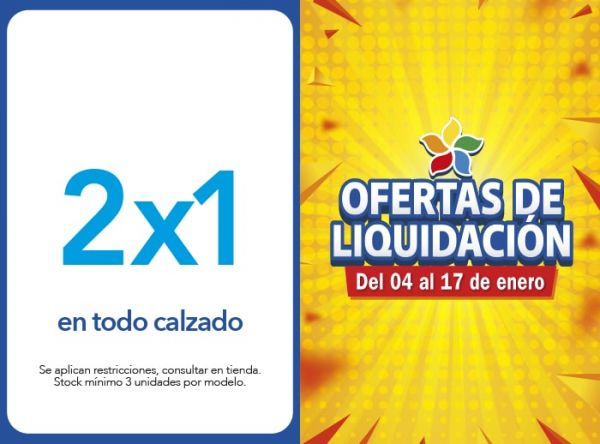 2X1 EN TODO CALZADO Bruno Ferrini - Mall del Sur