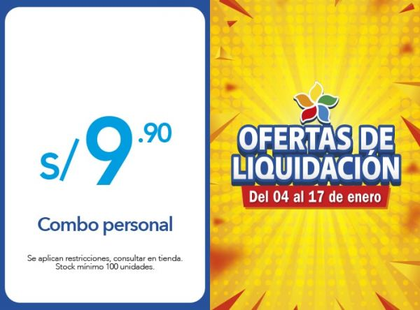 COMBO PERSONAL A S/.9.90 Chinawok - Mall del Sur