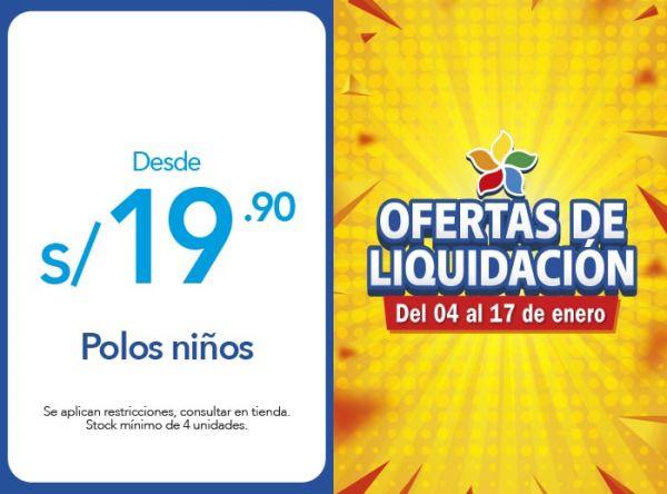 POLOS NIÑOS DESDE S/19.90 Hormiguita - Mall del Sur