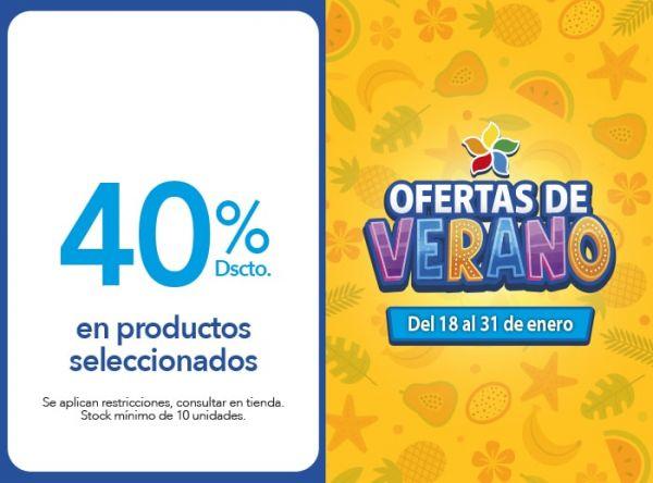 40% Dscto. en productos seleccionados CONVERSE - Mall del Sur
