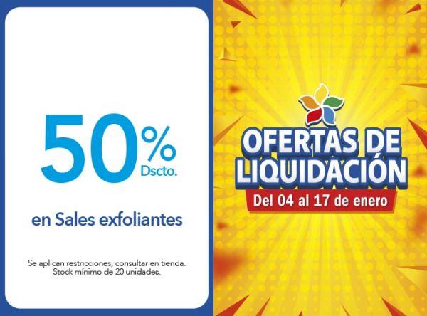 50% DSCTO EN SALES EXFOLIANTES Dead Sea Premier - Mall del Sur
