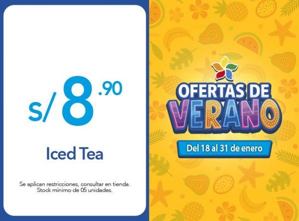 Iced Tea a solo S/. 8.90 Frutix - Mall del Sur