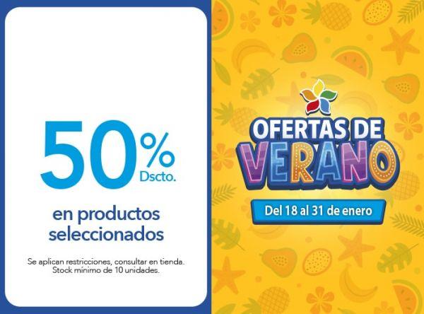 50% Dscto. en productos seleccionados LILI PINK   - Mall del Sur