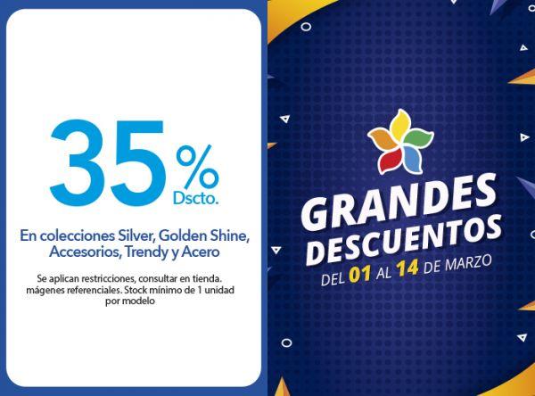 35% DSCTO.EN COLECCIONES SILVER, GOLDEN SHINE, ACCESORIOS, TRENDY Y ACERO BOHOO ACCESORIOS - Mall del Sur