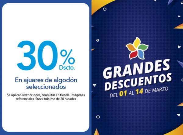 30% DSCTO.EN AJUARES DE ALGODÓN SELECCIONADOS MINI MANITAS - Mall del Sur