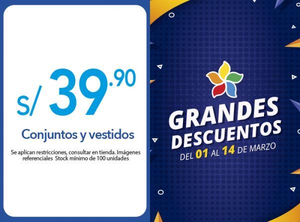 CONJUNTOS Y VESTIDOS DEDE S/39.90 Sneak - Mall del Sur