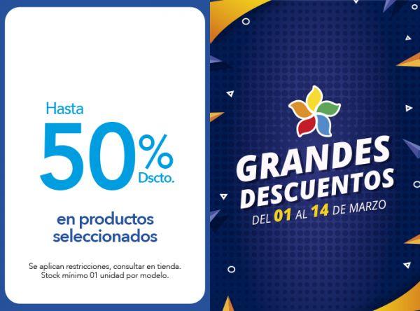 HASTA 50% DSCTO.EN PRODUCTOS SELECCIONADOS Crepier  - Mall del Sur