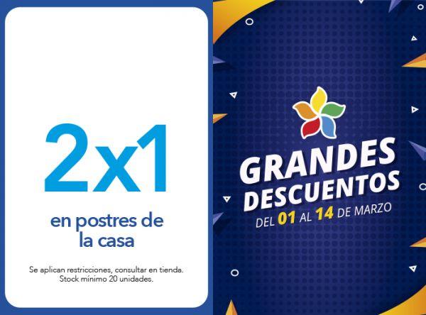 2X1 EN POSTRES DE LA CASA Don Buffet - Mall del Sur