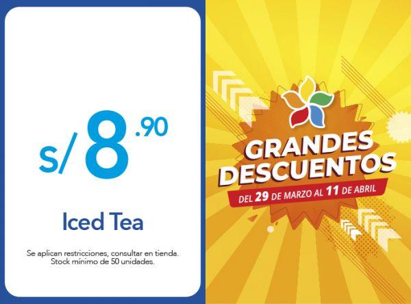 ICED TEA A S/ 8.90 - Plaza Norte