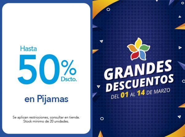 HASTA 50% DSCTO. EN PIJAMAS KAYSER - Mall del Sur