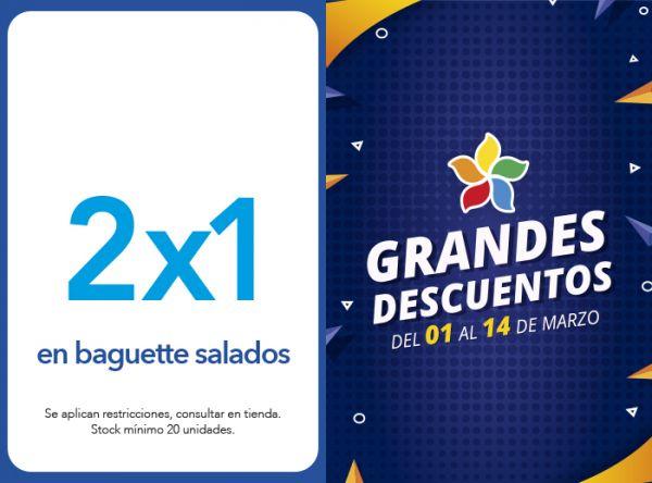 2X1 EN BAGUETTE SALADOS PANISTERIA - Mall del Sur
