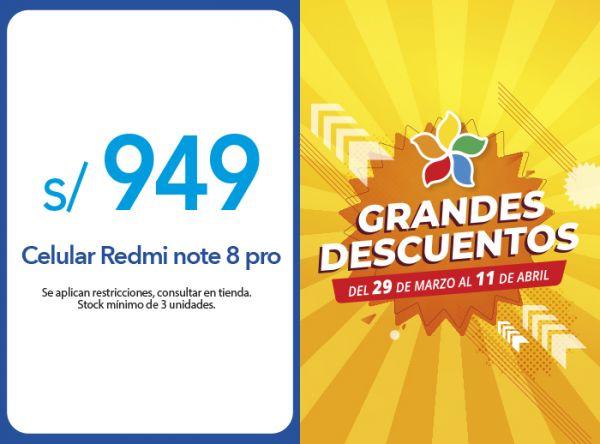 CELULAR REDMI NOTE 8 PRO A S/949.00 - Plaza Norte