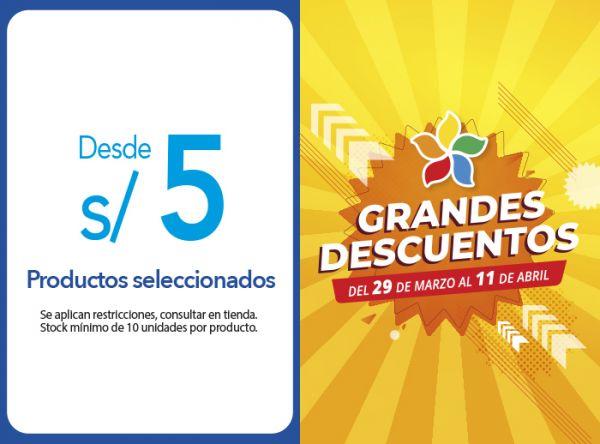 PRODUCTOS SELECCIONADOS DESDE S/5.00 - Plaza Norte