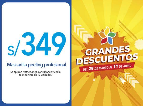 MASCARILLA PEELING PROFESIONAL A S/ 349.00 - Plaza Norte