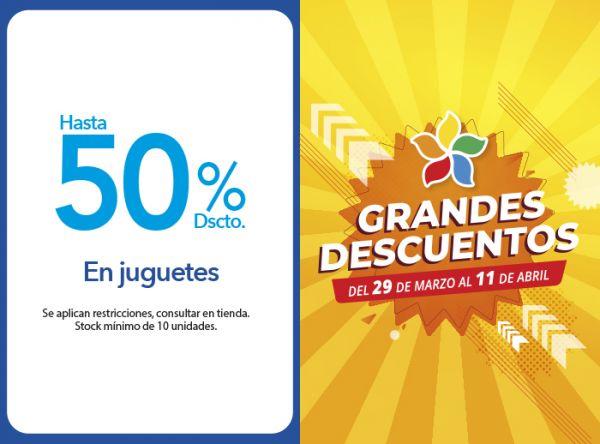 HASTA 50% DSCTO. EN JUGUETES - Plaza Norte