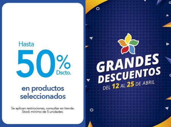 HASTA 50% DSCTO. EN PRODUCTOS SELECCIONADOS - Plaza Norte